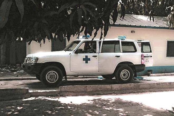 gambia community hospital ambulance