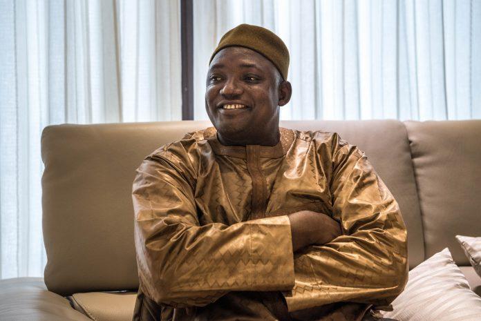 Adama Barrow Smiles