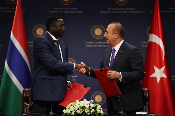 Turkey Supports Gambia