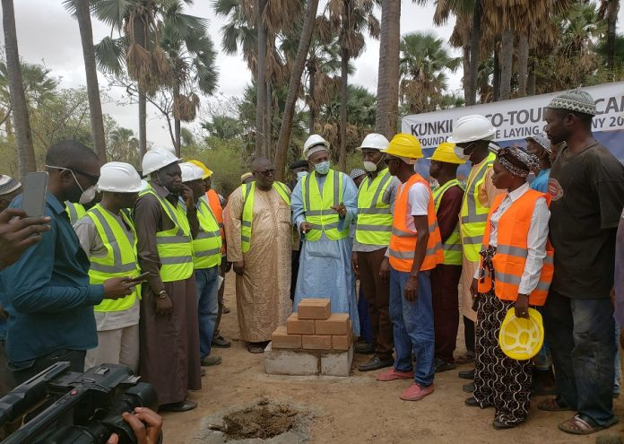 Laying of the foundation at Jimara Eco Tourism Park