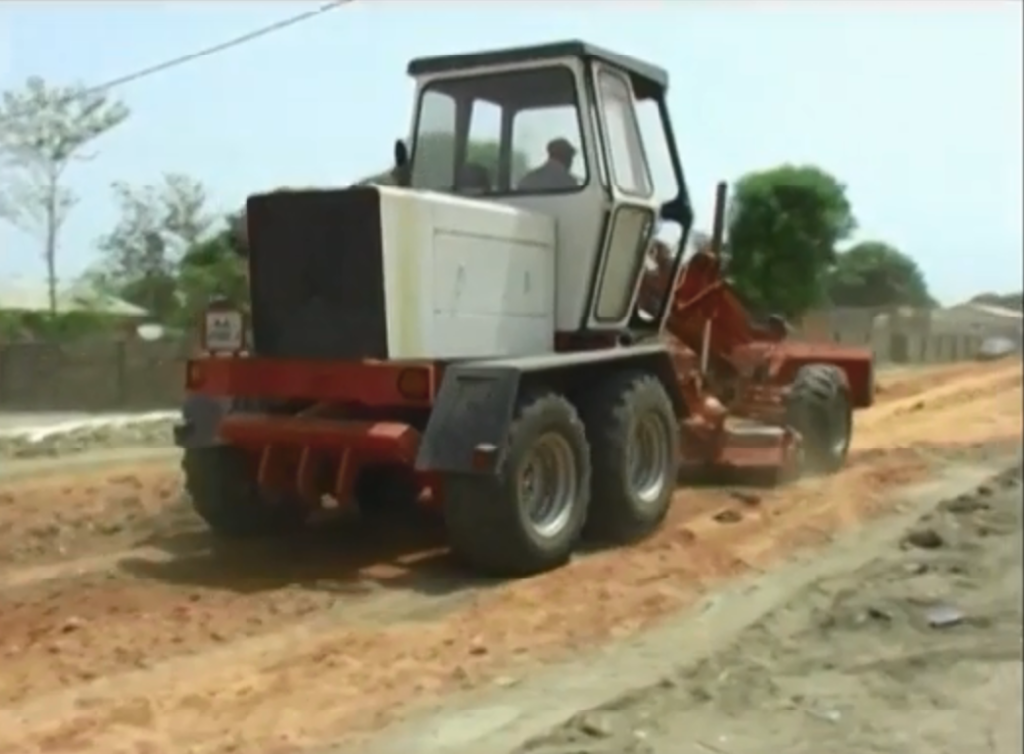 Sinchu Alagie road construction for urban regeneration