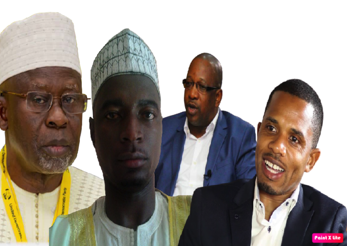 pOLITICAL Partyleaders